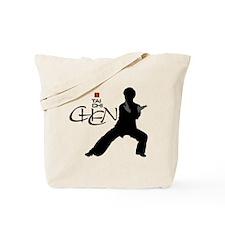 Chen Tai Chi<br>Large Graphic<br> Tote Bag