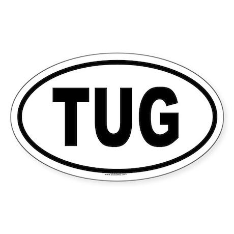TUG Oval Sticker