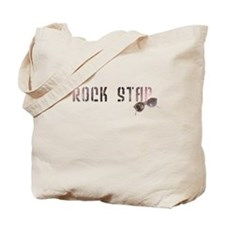 Rock Star with sunglasses Tote Bag