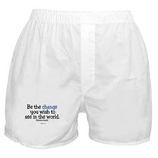 Be The Change Boxer Shorts