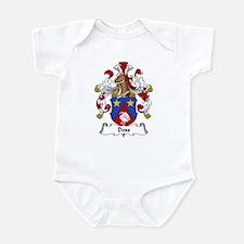 Doss Family Crest Infant Bodysuit