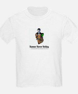Hammer Horror Holiday Logo Kids White T-Shirt