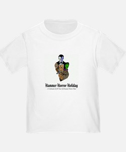 Hammer Horror Holiday Logo White T