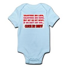 Valentine's are lame Infant Bodysuit