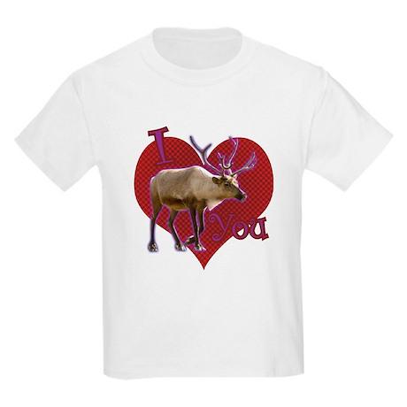 I [caribou] You! Kids Light T-Shirt