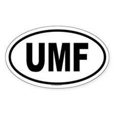 UMF Oval Decal