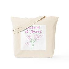 Flowers Matron of Honor Tote Bag