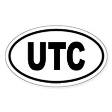 UTC Oval Decal