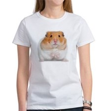Hamster with Flower Tee