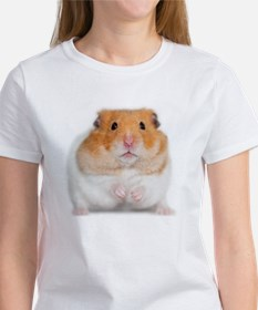 Hamster with Flower Women's T-Shirt