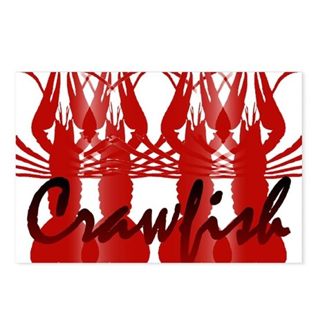 Crawfish Pairs Postcards (Package of 8)