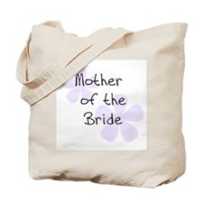 Pastel Flowers Lilac Mother of Bride Tote Bag