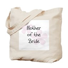 Mother of the Bride Pastel Pink Flowers Tote Bag