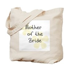 Pastel Flowers Yellow Mother of Bride Tote Bag