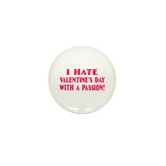 Hate With a Passion Mini Button (100 pack)