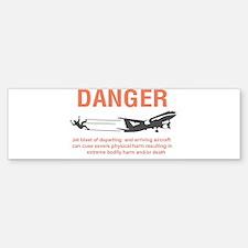 jet blast apparel Bumper Bumper Bumper Sticker