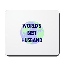 World's Best Husband Mousepad