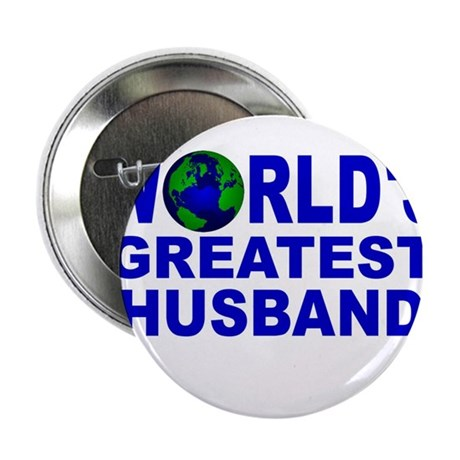 "World's Greatest Husband 2.25"" Button (10 pack)"