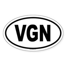 VGN Oval Decal