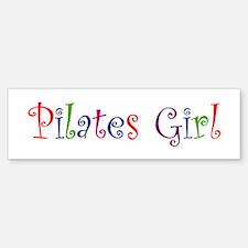 """Pilates Girl"" Bumper Bumper Bumper Sticker"