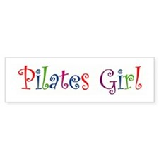 """Pilates Girl"" Bumper Bumper Sticker"