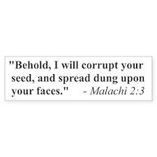 MALACHI 2:3