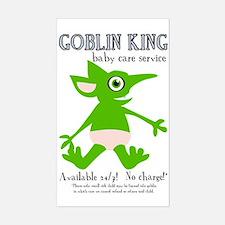 Goblin King Baby Care Rectangle Decal
