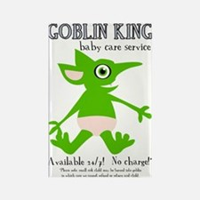 Goblin King Baby Care Rectangle Magnet