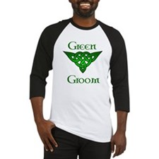 Celtic Green Groom Baseball Jersey