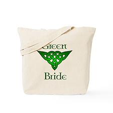 Celtic Green Bride Tote Bag