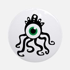 Tentacle Monster Ornament (Round)