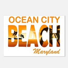 Funny Ocean city maryland Postcards (Package of 8)