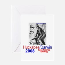 Huckabee/Darwin Greeting Card