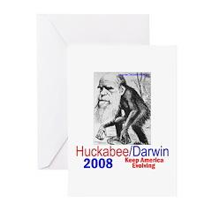 Huckabee/Darwin Greeting Cards (Pk of 10)