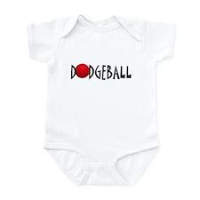 Dodgeball single Infant Bodysuit