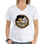 One-Eyed Willy's Women's V-Neck T-Shirt