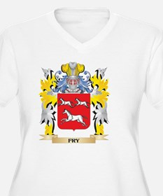 Fry Coat of Arms - Family Crest Plus Size T-Shirt