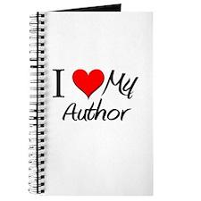 I Heart My Author Journal