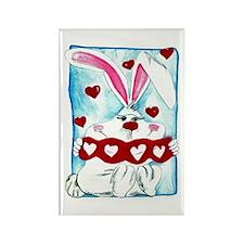 Honey Bunny Love Rectangle Magnet