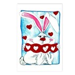 Honey Bunny Love Postcards (Package of 8)