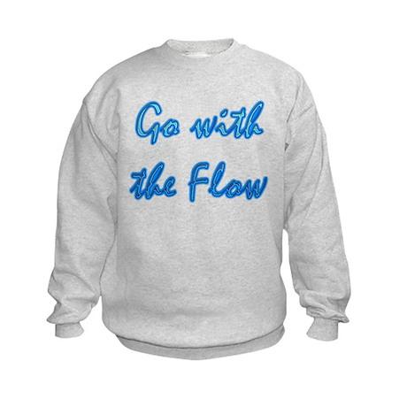Go With the Flow Kids Sweatshirt