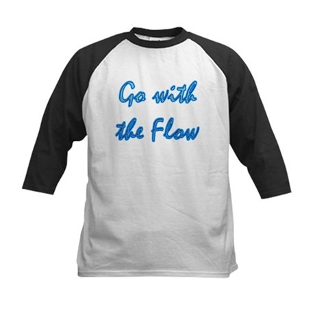 Go With the Flow Kids Baseball Jersey