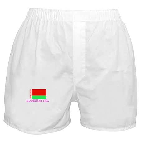 Belarusan Girl Boxer Shorts