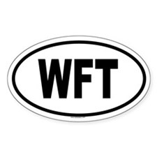 WFT Oval Decal