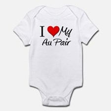 I Heart My Au Pair Infant Bodysuit