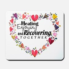 Recovery Valentine Mousepad