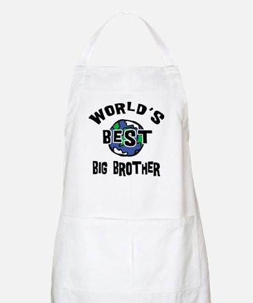World's Best Big Brother BBQ Apron