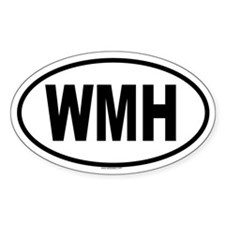 WMH Oval Decal