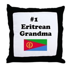 #1 Eritrean Grandma Throw Pillow