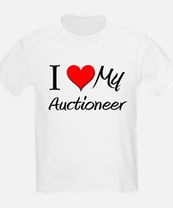 I Heart My Auctioneer T-Shirt